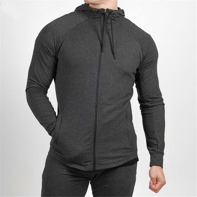 Zipper Hoody Gray