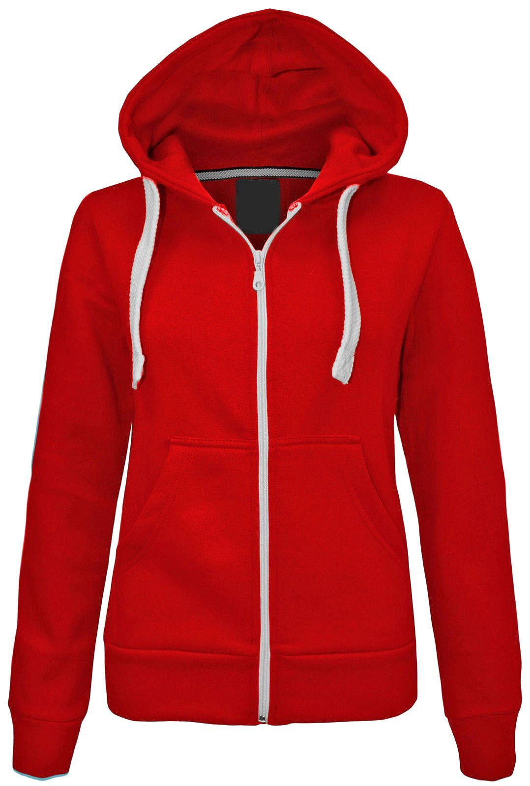 Ladies Zipper Hoody