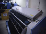 Trouser Pop/Waist Band Press Machine
